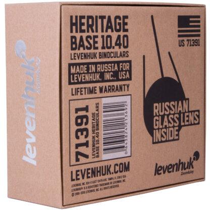 Caja de prismáticos Levenhuk Heritage Base 10x40, 71391