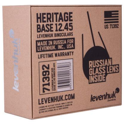 Caja de prismáticos Levenhuk Heritage Base 12x45, 71392