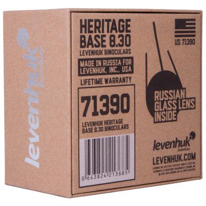 Caja de prismáticos Levenhuk Heritage Base 8x30, 71390