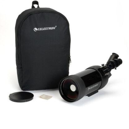 Telescopio Celestron C90 Mak con juego de accesorios