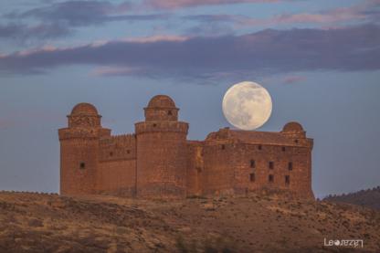 Castillo de La Calahorra, con telescopio Sky-Watcher 80ED y reductor 0,85x