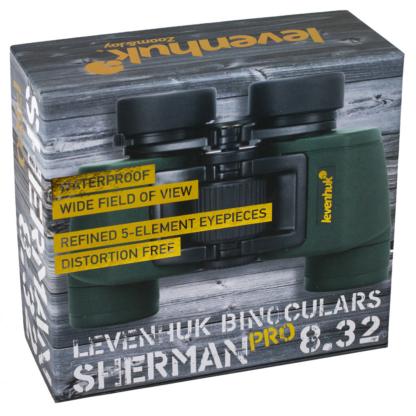 Caja de prismáticos Lehenhuk Sherman Pro 8.32